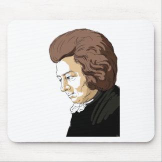 Mozart (Wolfgang Amadeus Mozart) Mouse Pad