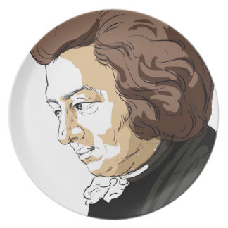 Mozart (Wolfgang Amadeus Mozart) Plate