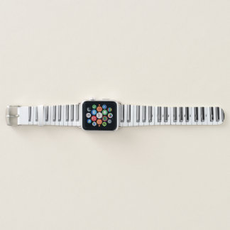 Mozart's Piano Keyboard Apple Watch Band
