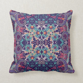 Mozz Boho Throw Pillow