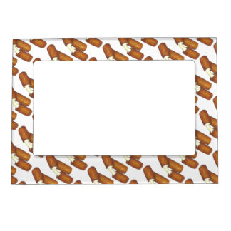 Mozzarella Cheese Sticks Junk Food Foodie Gift Magnetic Frame