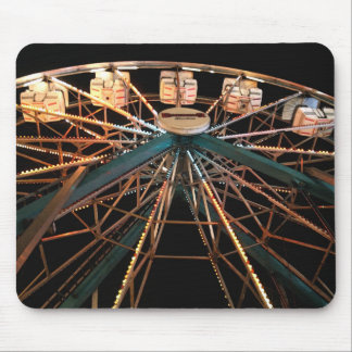 MP 0611 Ferris Wheel Watercolor Style Mouse Pad