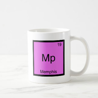 Mp - Memphis Funny Chemistry Element Symbol Tee Coffee Mug