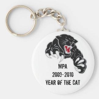 MPA Muscle Cat Keychain