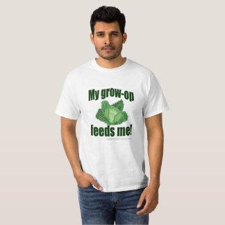 MPF-GrowOp-White T-Shirt