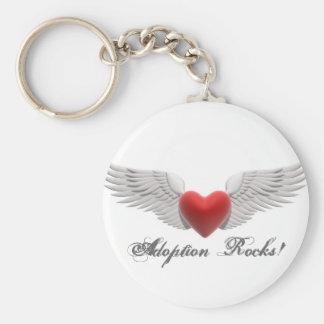 MPj04387260000[1], Adoption Rocks! Keychain