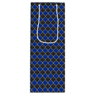 MQF Sequins-BLACK-BLUE-SILVER-WINE GIFT BAG