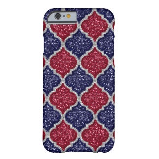MQF Sequins-Blue-Raspberry-Silver-iphone 6/6s Case