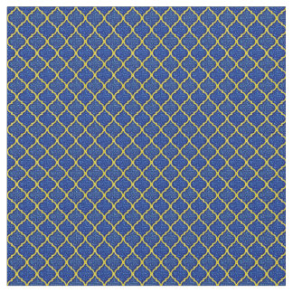 MQF Sequins-Blue-Yellow-FABRICS Fabric
