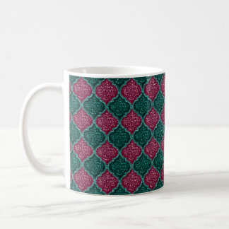 MQF Sequins-Plum-Jade-11oz Coffee Mug