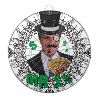 Mr 1% dartboard