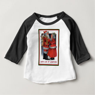 Mr and Mrs Claus With Love At Christmas Baby T-Shirt