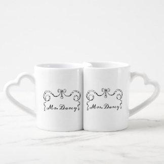 Mr. and Mrs. Darcy Lovers Mug Set