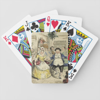 Mr. and Mrs. Fezziwig Playing Cards
