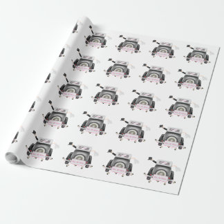 MR. AND MRS JUST MARRIED  Wrapping Paper