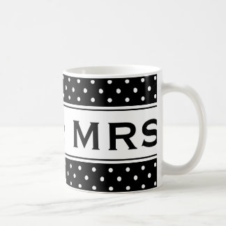 Mr and Mrs mug for newly weds | Customizable color