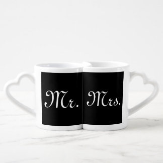 Mr. and Mrs. Nesting Mug Set Lovers Mug Sets