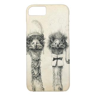 Mr. and Mrs. Ostrich iPhone 8/7 Case