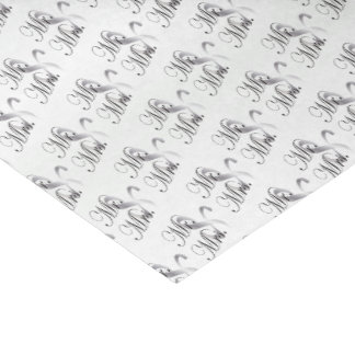 Mr. And Mrs. Pattern Tissue Paper