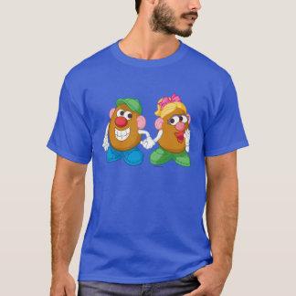 Mr. and Mrs. Potato Head Holding Hands T-Shirt