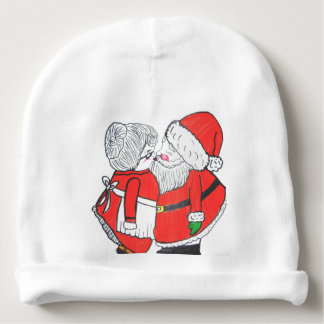 MR. AND MRS. SANTA CLAUSE infant hat Baby Beanie