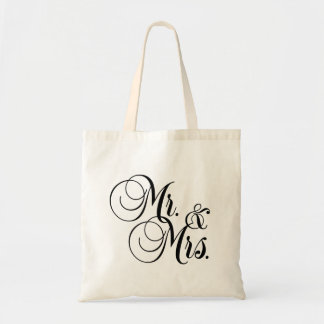 Mr. and Mrs. Totebag Tote Bag
