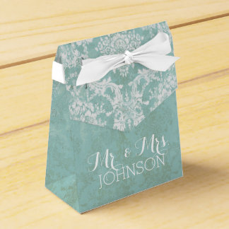Mr and Mrs Wedding Favor Thank You Favor Box