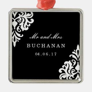 Mr and Mrs Wedding Keepsake Ornament