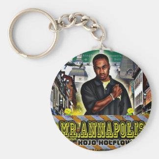 Mr. Annapolis Keychain