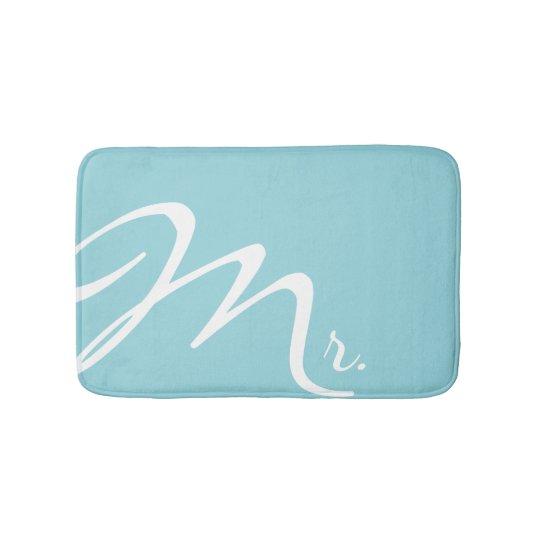 Mr Aquamarine Bath Mat