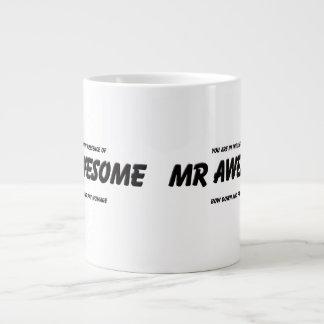 Mr Awesome Large Coffee Mug