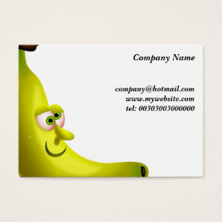 Mr Banana Business Card