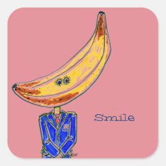 Mr. Banana Stickers