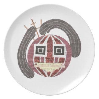 Mr Bauble Melamine Plate