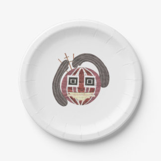 Mr Bauble Paper Plate