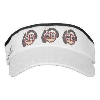 Mr Bauble Visor Hat