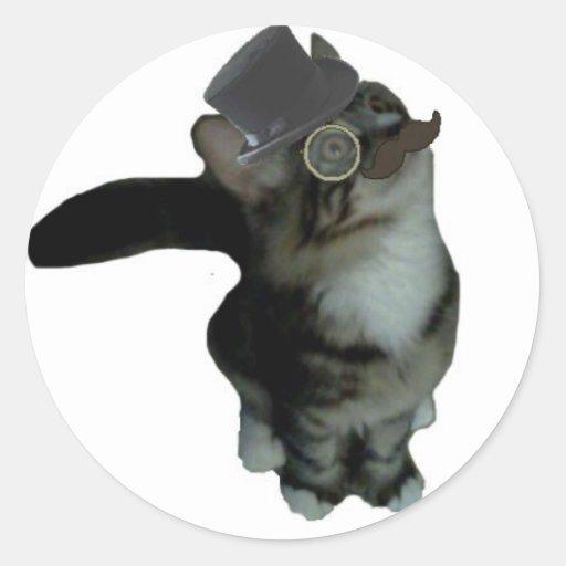 Mr. Biffles Stickers  - White