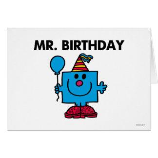 Mr. Birthday | Happy Birthday Balloon Card