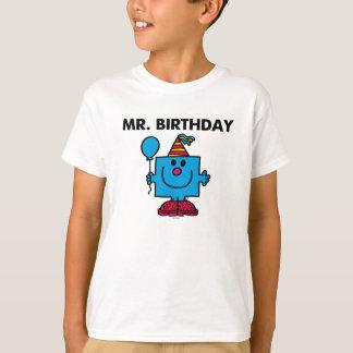 Mr. Birthday | Happy Birthday Balloon T-Shirt
