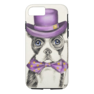 Mr Boston Terrier iPhone 7 Case