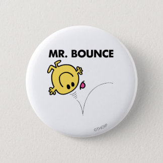 Mr. Bounce | Classic Pose 2 Inch Round Button