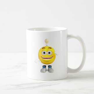 Mr. Brainy the Emoji that Loves to Think Coffee Mug