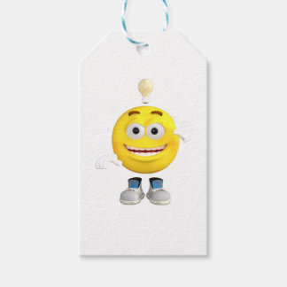 Mr. Brainy the Emoji that Loves to Think Pack Of Gift Tags
