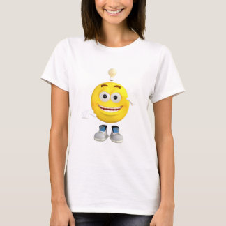 Mr. Brainy the Emoji that Loves to Think T-Shirt