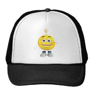 Mr. Brainy the Emoji that Loves to Think Trucker Hat