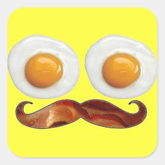 Mr. Breakfast Stickers