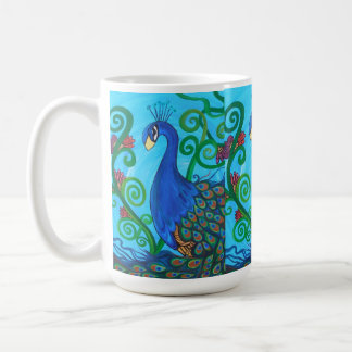 Mr Bree Peacock Coffee Mug