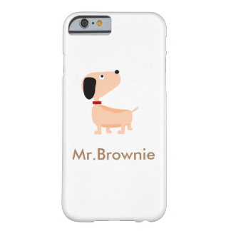 Mr.Brownie Barely There iPhone 6 Case