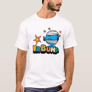 Mr. Bump | Bandaged Thumb & Stars T-Shirt