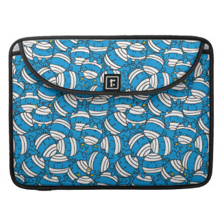 Mr Bump | Blue Confusion Pattern Sleeve For MacBook Pro